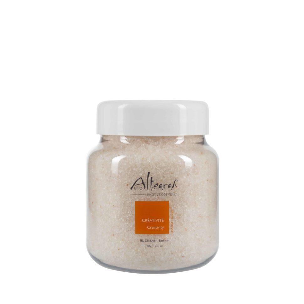 koupelová sůl oranžová altearah bio