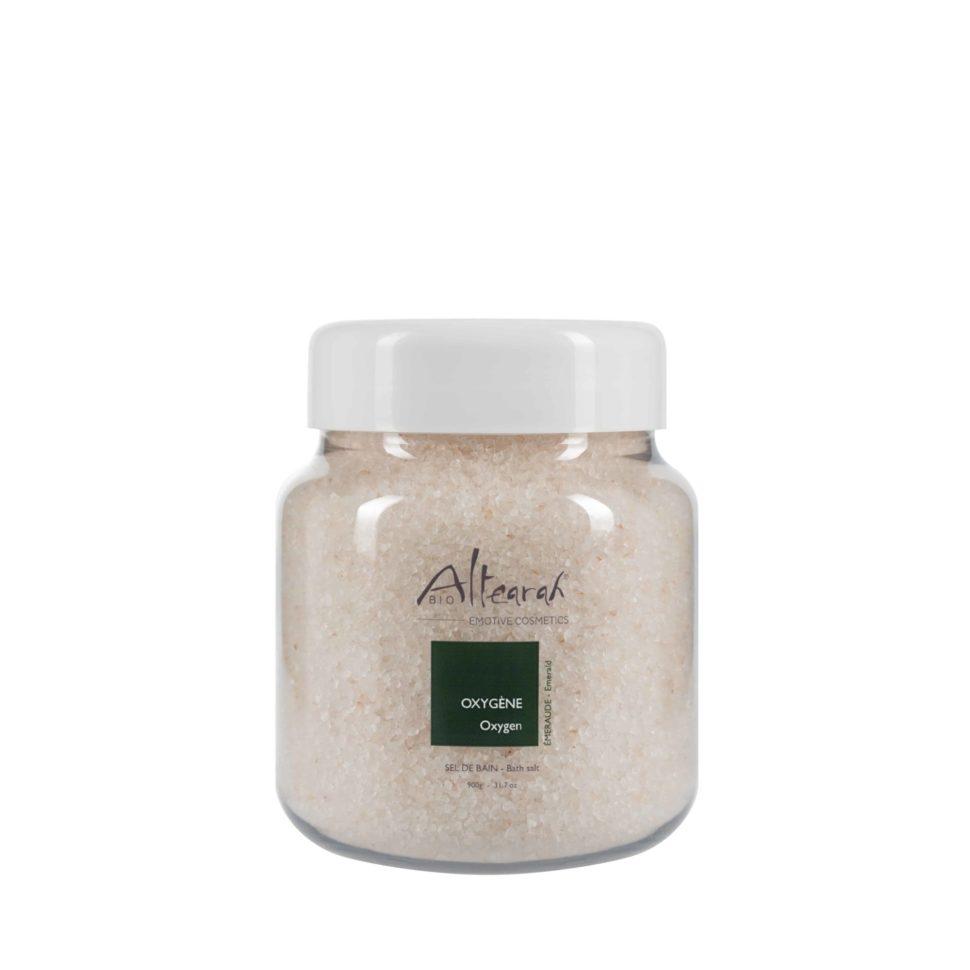 koupelová sůl smaragdová altearah bio