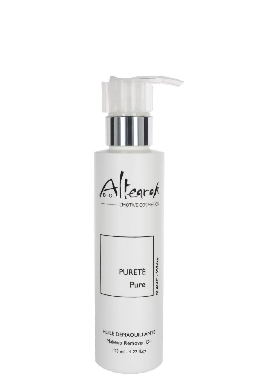 bílá odličovací olej altearah flakon