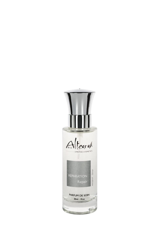 stříbrná parfém altearah flakon