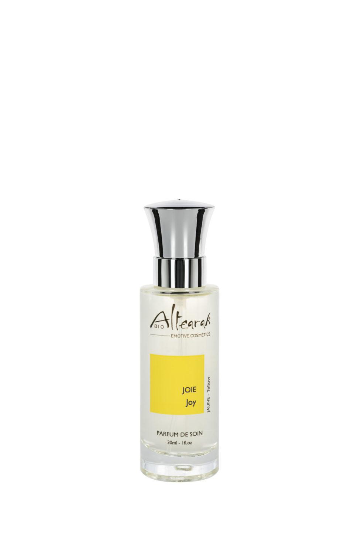 žlutá parfém altearah flakon