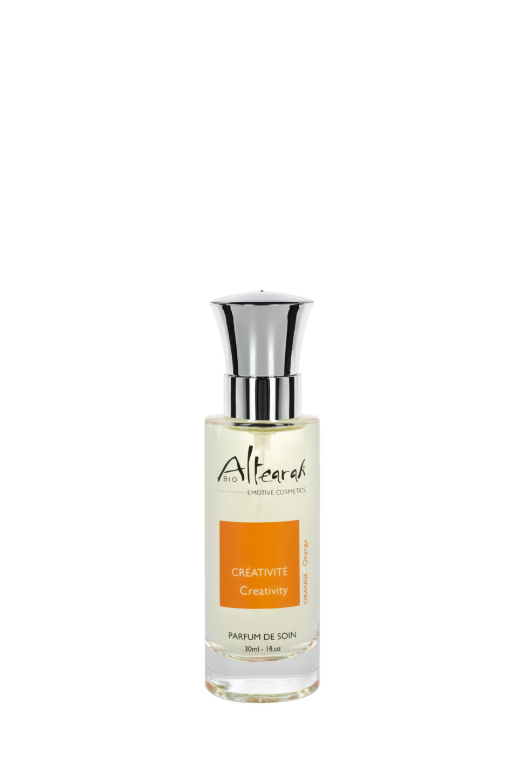 oranžová parfém altearah flakon