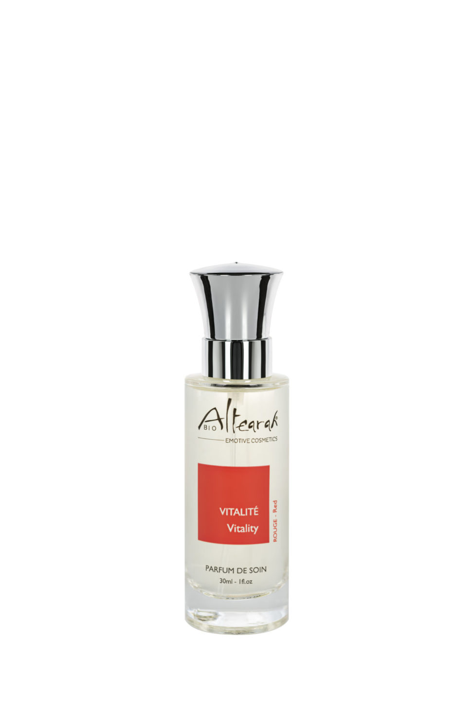 červená parfém altearah flakon