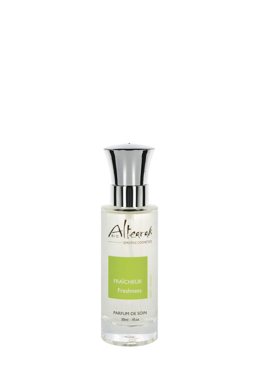zelená parfém altearah flakon